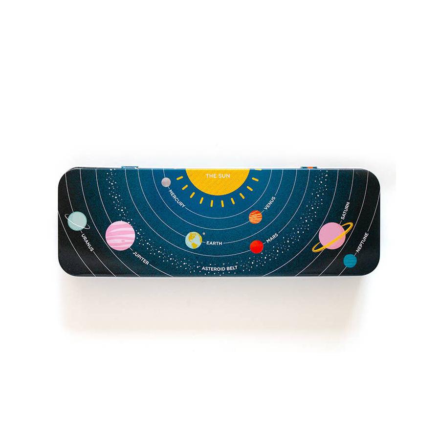 Smarty Pants Paper Solar System Pencil Box