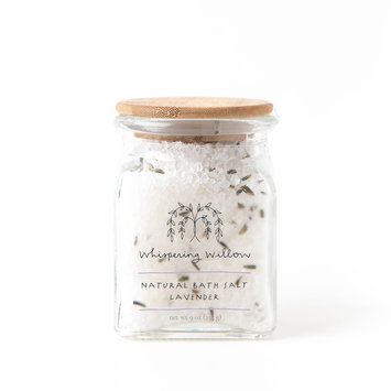 Whispering Willow Lavender natural bath salts