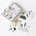 Wee Gallery Wee Gallery - Wild Life Floor Puzzle