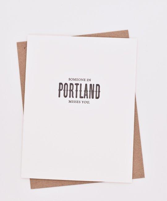 Sapling Press - SAP SAPGCMI0011 - Someone in Portland Misses You