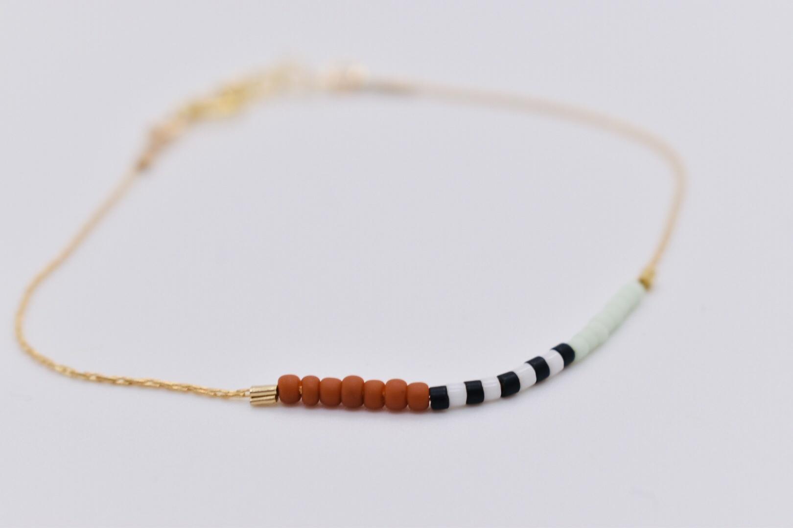 Son of a Sailor - SOAS SOAS JE - Septima Bracelet,  Terra Cotta