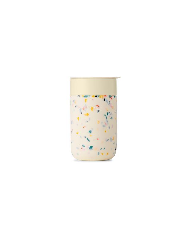 W&P Design - WP Terrazzo Cream Porter Mug, 16oz