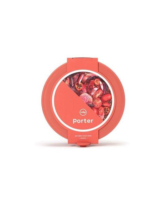W&P Design - WP WP HG - Red Plastic Porter Bowl