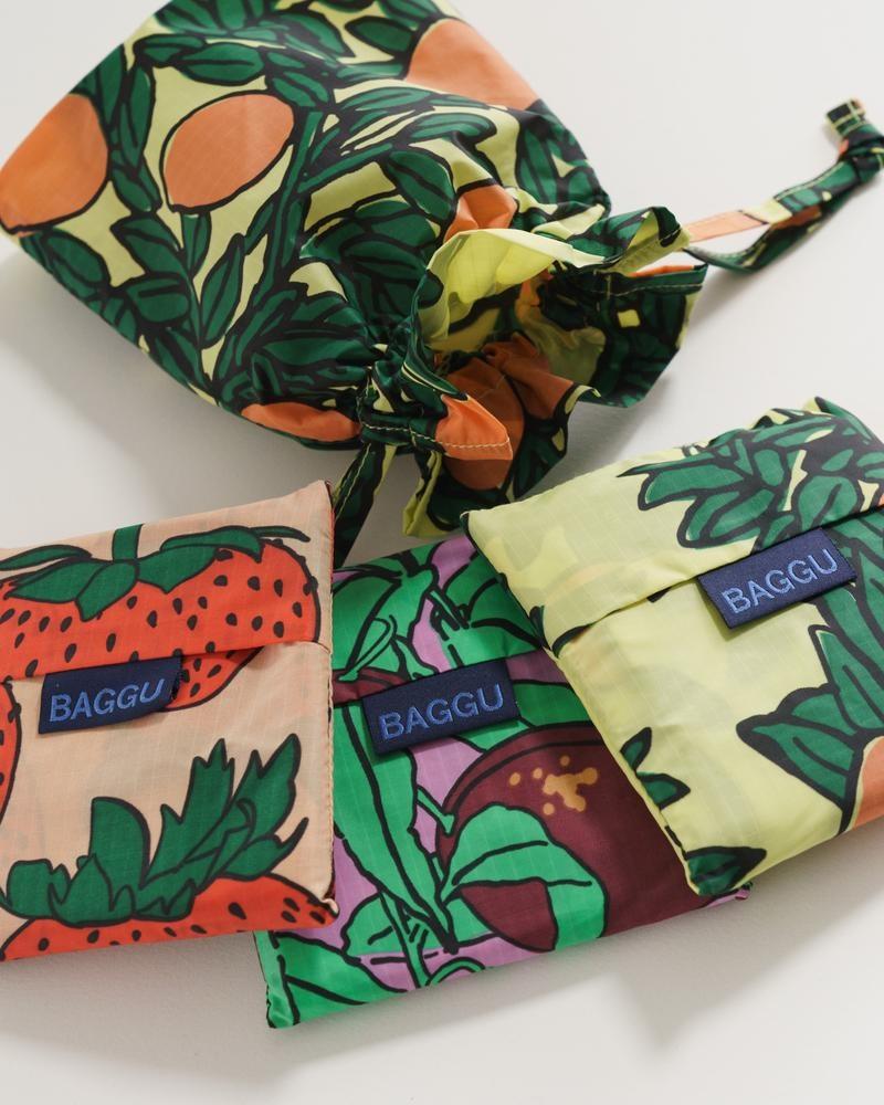 Baggu - BA BA BAG - Backyard Fruit Standard Baggu Set of 3
