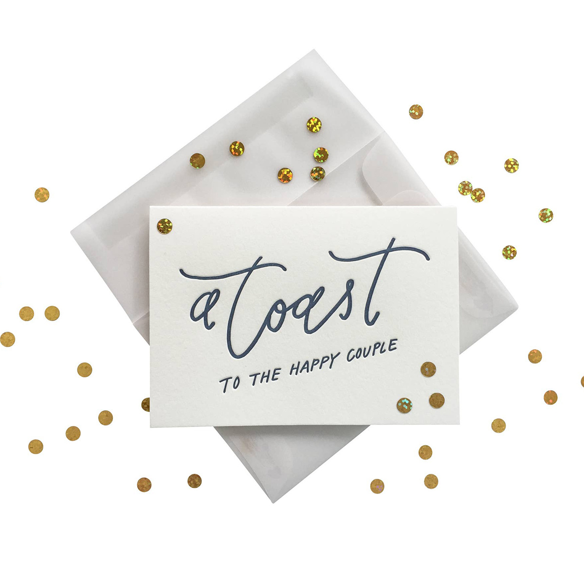 Ink Meets Paper - IMP Confetti Toast