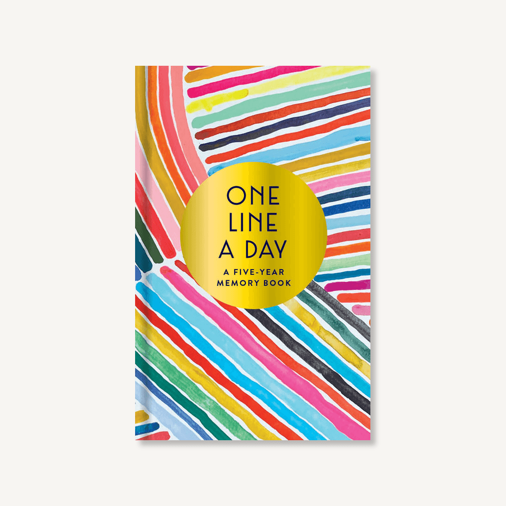 Chronicle Books - CB Rainbow One Line a Day: A Five-Year Memory Book
