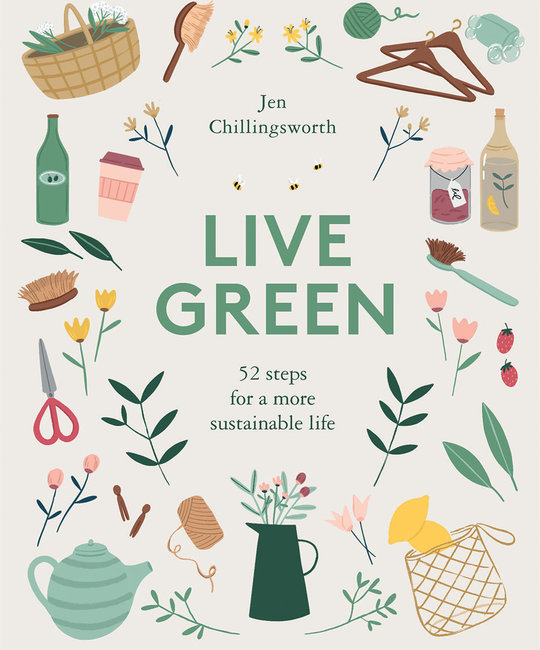 Chronicle Books - CB Live Green: 52 Steps for a More Sustainable Life