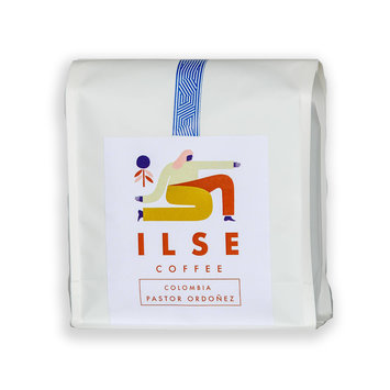 ILSE Coffee - ILSE Ilse Coffee - Pastor Ordonez Colombia Coffee Beans, 12oz