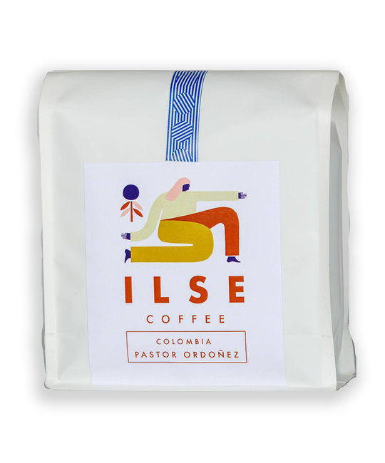 ILSE Coffee - ILSE Ilse Coffee - Pastor Ordonez Colombia Coffee Beans, 12oz
