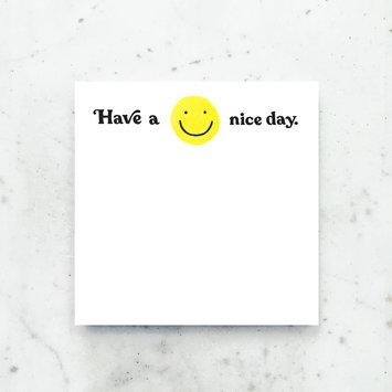 Idlewild Co - ID ID NP - Have a Nice Day Jumbo Notepad
