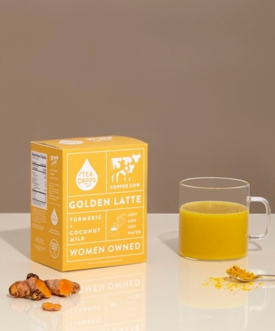 Copper Cow Coffee - CCC Turmeric + Coconut Milk Golden Latte