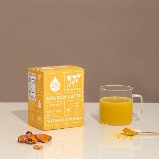 Copper Cow Coffee - CCC Turmeric + Coconut Milk Golden Latte