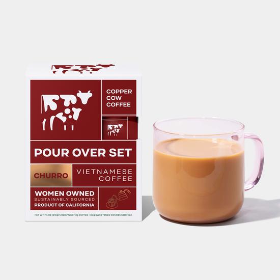Copper Cow Coffee - CCC Churro Latte Vietnamese Coffee