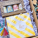 Gus and Ruby Letterpress - GR Gus & Ruby - Sip Sip Hooray Gift Box