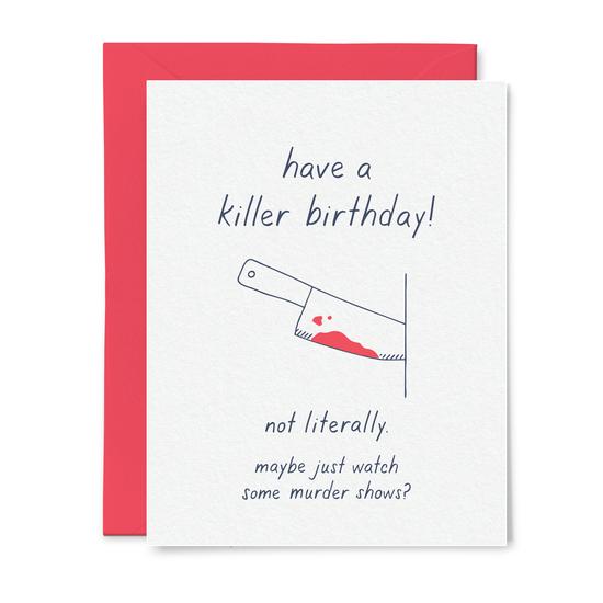 Little Goat Paper Co - LG Killer Birthday