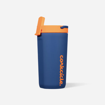 Corkcicle - CO Corkcicle - Electric Navy 12 oz. Kids Cup