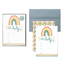 Lucy Darling - LUD Little Rainbow Party Invitations, Set of 10