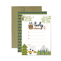 Lucy Darling - LUD Little Camper Party Invitations, Set of 10