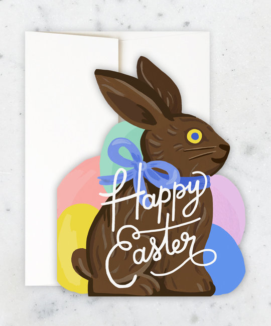 Idlewild Co - ID Bunny Die-cut Happy Easter Card