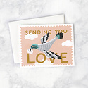 Idlewild Co - ID Carrier Pigeon Sending You Love
