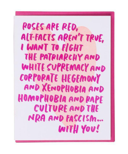 and Here We Are - AHW Woke Love Poem