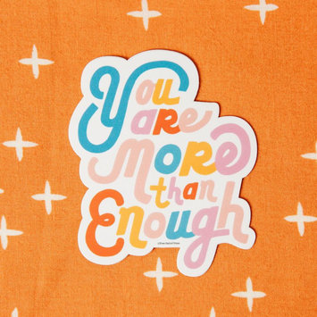 Free Period Press - FPP You Are More Than Enough Sticker