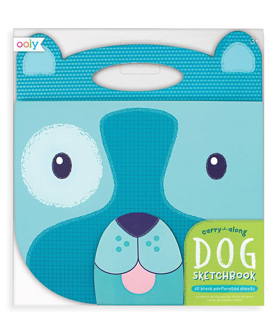 OOLY - OO Dog Carry Along Sketchbook