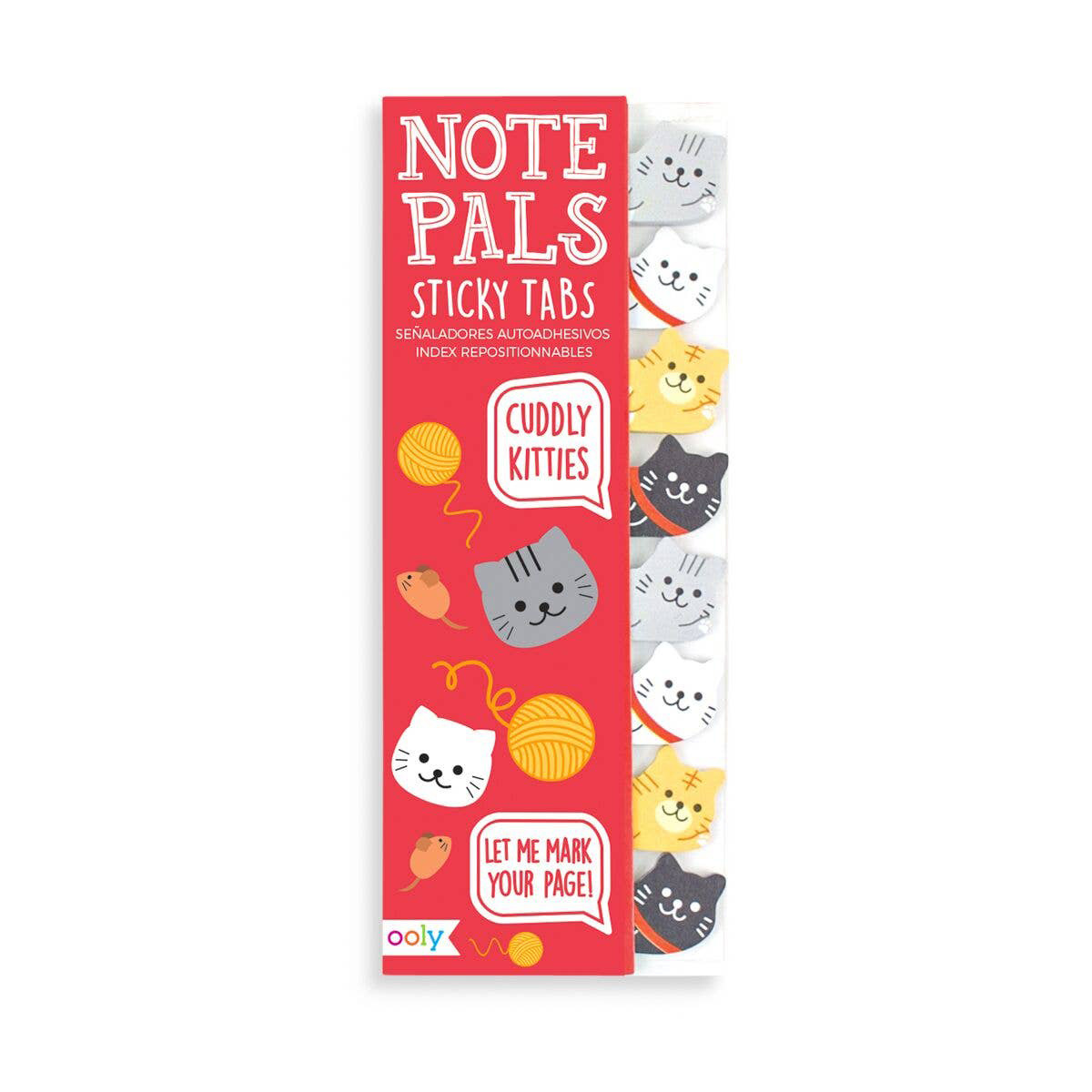 OOLY - OO Cuddly Kitties Note Pals Sticky Note Tabs
