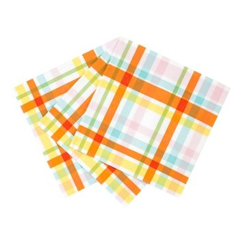Talking Tables - TT Hop Over The Rainbow Check Napkins