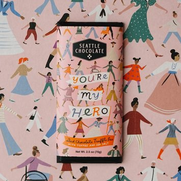 Seattle Chocolate - SC SC FAD - You're My Hero Truffle Bar