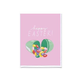 La Familia Green - LFG Jelly Beans Scratch and Sniff Happy Easter Card
