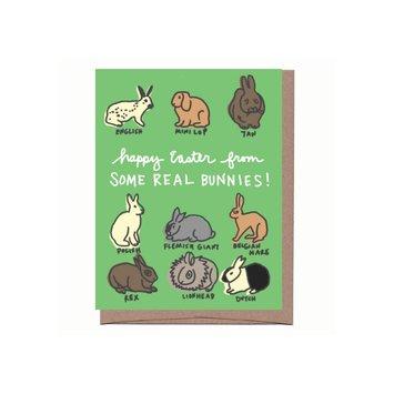 La Familia Green - LFG Real Bunnies Easter Card