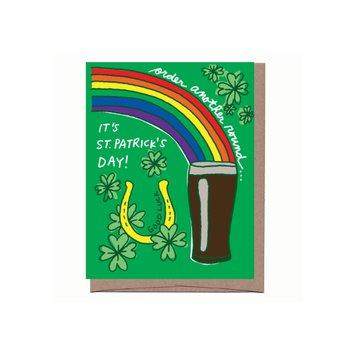 La Familia Green - LFG Rainbow Beer  St. Patrick's Day Card