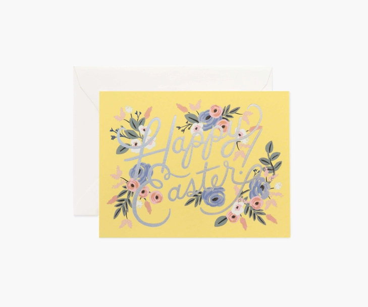Rifle Paper Co - RP Rifle Paper Co Sunshine Easter Set of 8 Cards