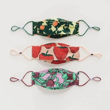 Baggu - BA Baggu Kids Backyard Fruit Adjustable Mask