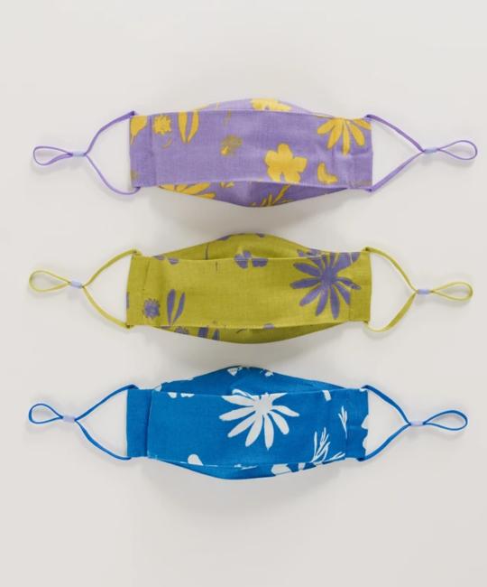 Baggu - BA Baggu Kids Floral Sun Prints Adjustable Masks