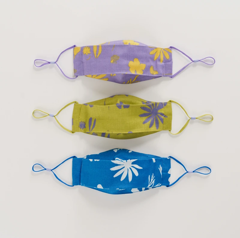 Baggu - BA Baggu Kids Floral Sun Prints Adjustable Masks