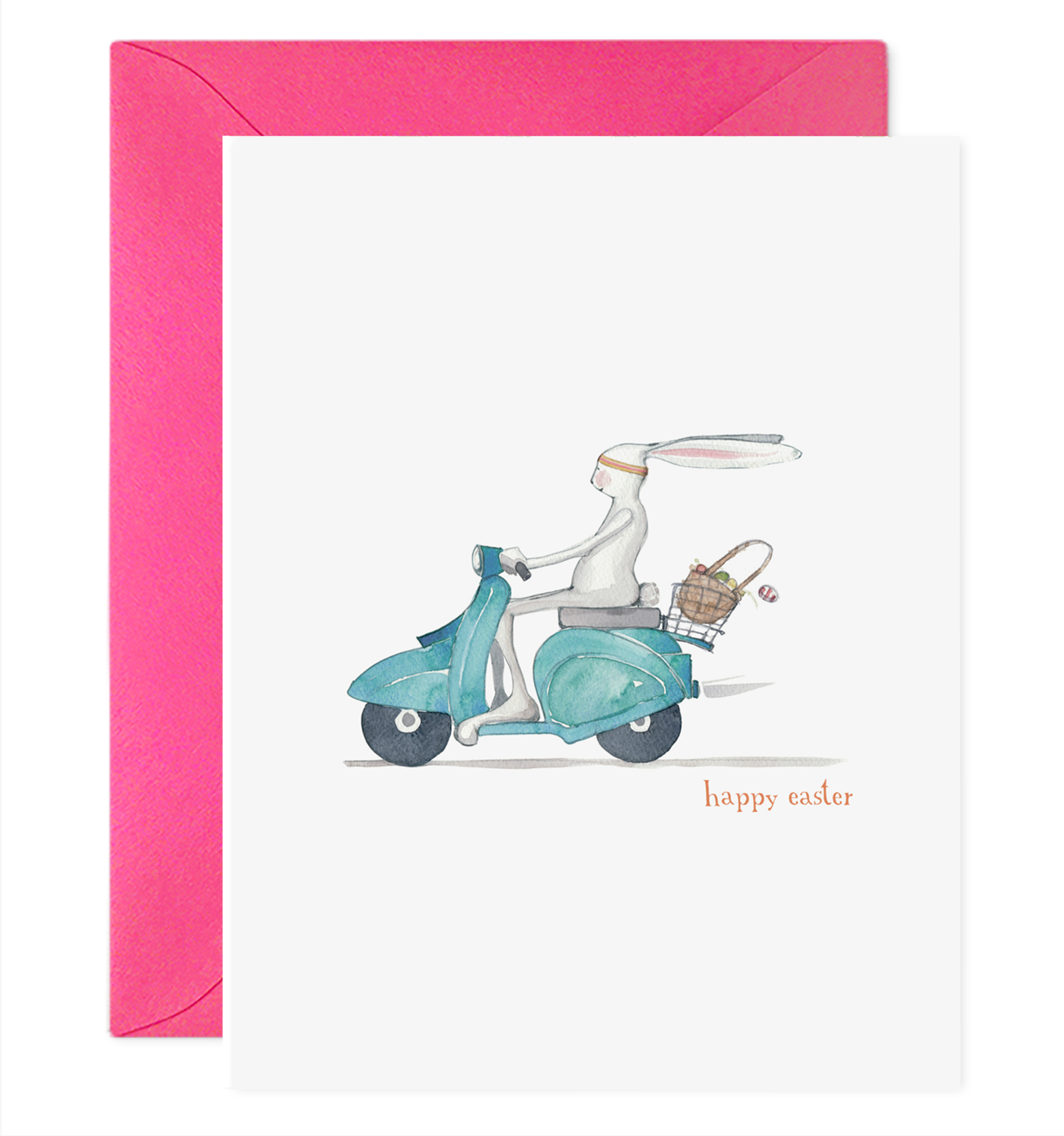 E. Frances Paper Studio - EF Easter Moped Card