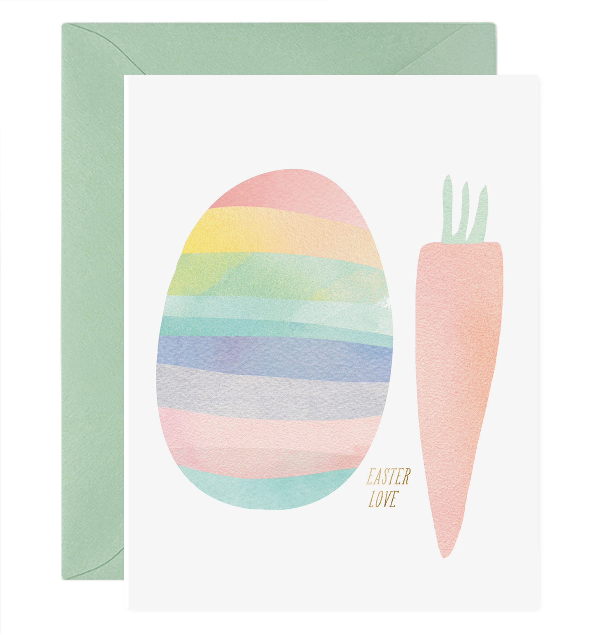 E. Frances Paper Studio - EF Egg and Carrot Card