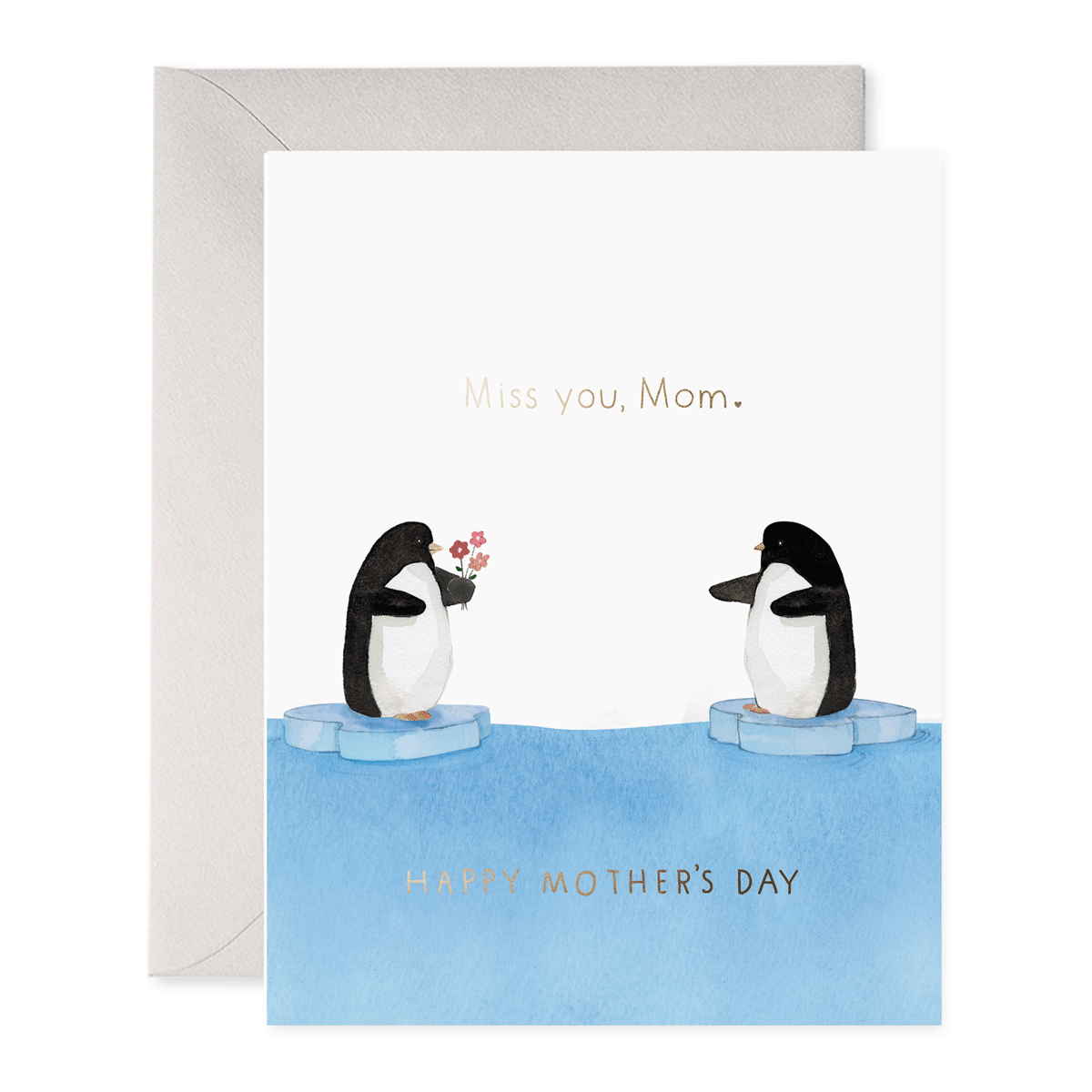 E. Frances Paper Studio - EF Penguin Mom Mother's Day Card