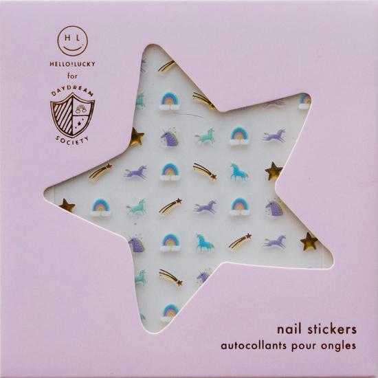 Daydream Society DAS AP - Unicorn + Rainbows Nail Stickers