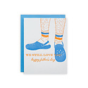 Riva Letterpress - RIL Crocs and Socks Father's Day Card