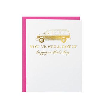 Riva Letterpress - RIL Minivan Mother's Day Card