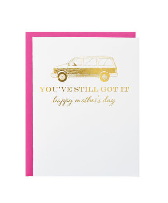 Riva Letterpress - RIL Minivan Mother's Day Card