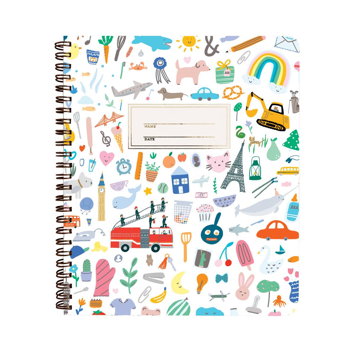 Paula & Waffle - PAW Paula + Waffle - Favorite Things Notebook, blank