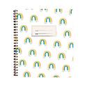 Paula & Waffle - PAW Paula + Waffle -Rainbows Notebook, blank