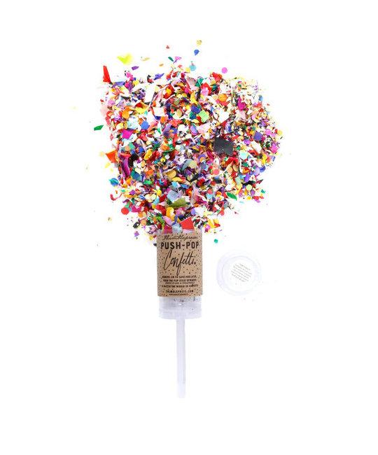 Thimblepress Confetti Push-Pop