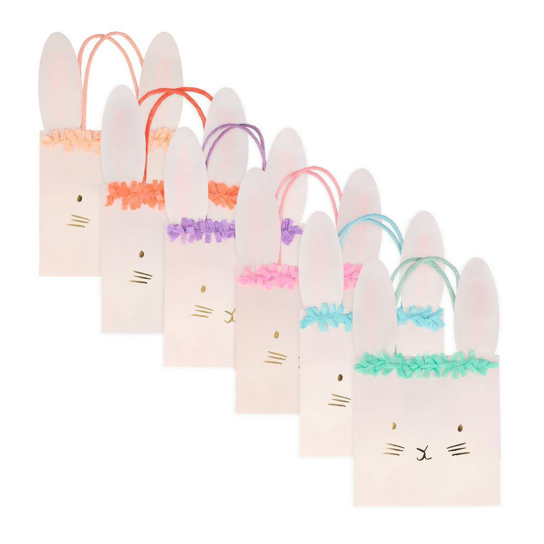 Meri Meri - MEM Meri Meri Bunny Party Bags, set of 6