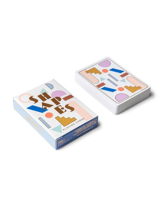"""Designworks Ink - DI Blue """"Shapes"""" Card Deck of Playing Cards"""