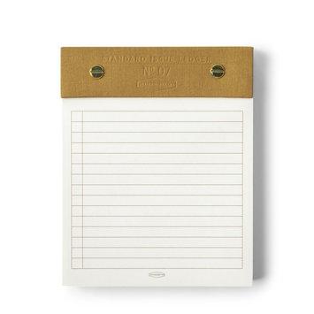 Designworks Ink Ochre Standard Issue Post Bound Note Pad, 5 X 6